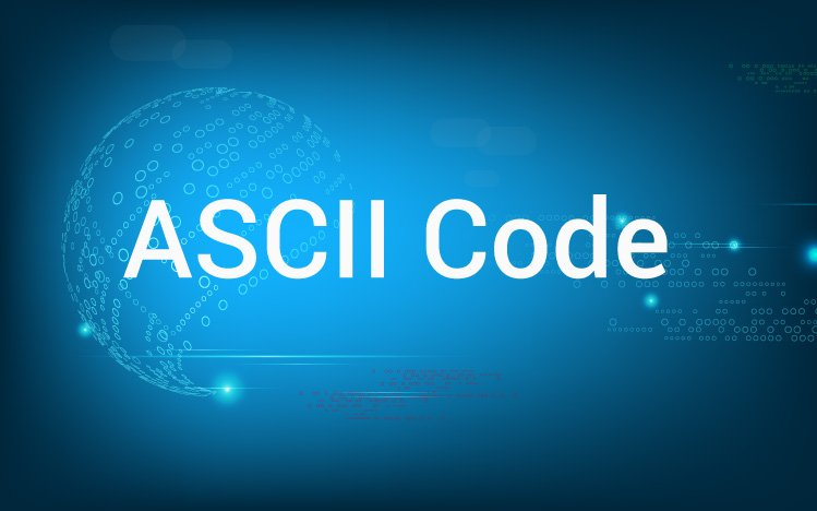 ASCII value of a character