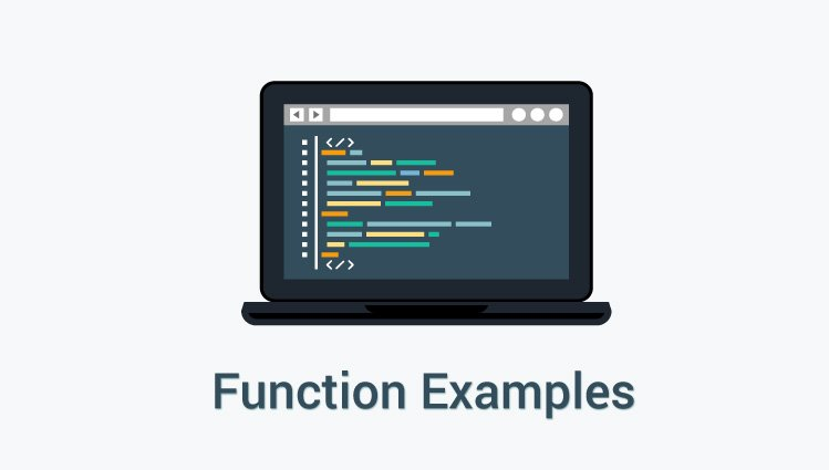 Function examples in C programming