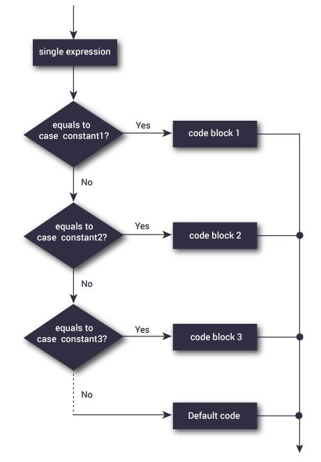 C switchse statement switch statement flowchart ccuart Choice Image