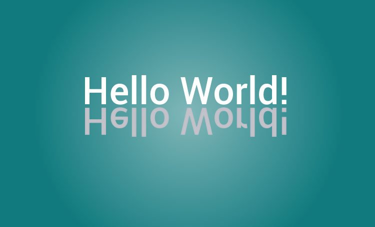 Hello world program