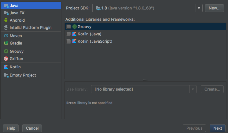 Run Java in IntelliJ Idea select option