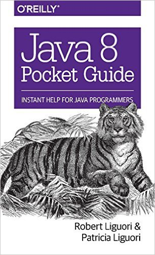 Java 8 Pocket Guide Book