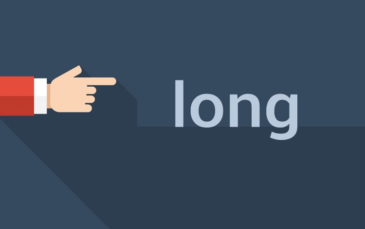 long keyword in C programming