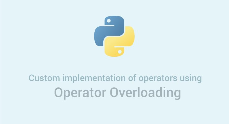 Operator overloading in Python