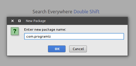 Package Naming convention in Java