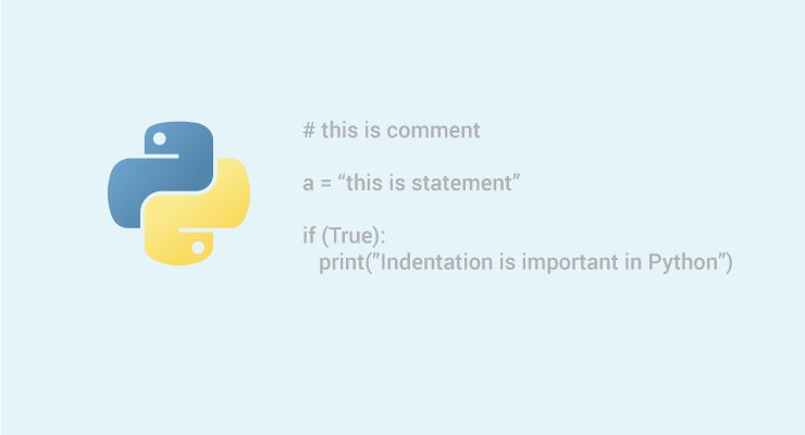 Python Statement, Indentation and Comments