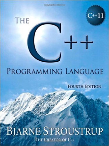 The C++ programming Language Book