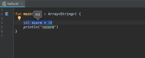 View type of a variable in IntelliJ IDEA